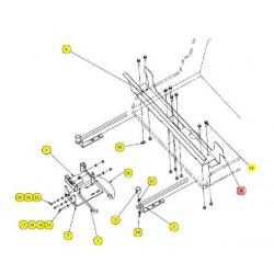 Пластина теплообменника - SX017825