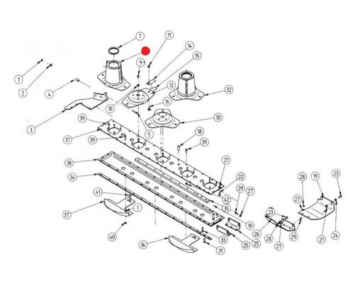 Диск ротора - 3151008