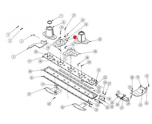 Диск ротора - 3151013