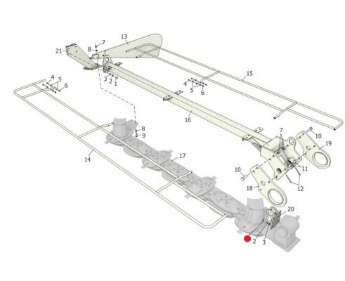 Болт - М12-6gх35.88.35.019