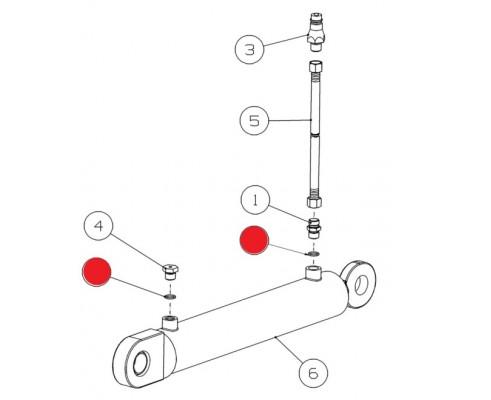 Кольцо - 017-020-19-2-3