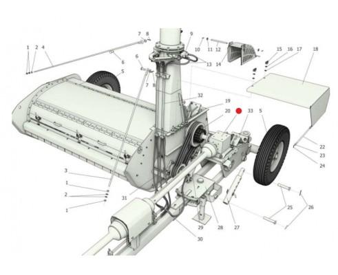 Мультипликатор j-1:2,25 - 118-10.101.R