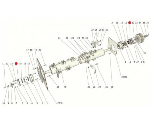 Крышка подшипника - Н 026.174А