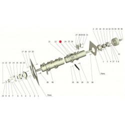 Груз балансировочный (тонкий) - КСД 01.04.416-002