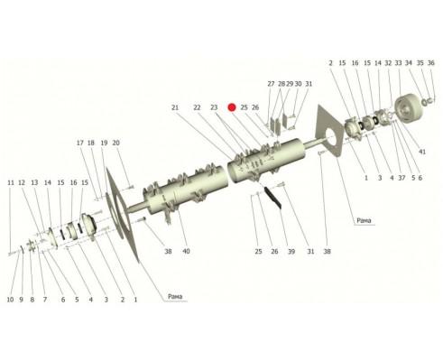 Болт - М12-6gх40.88.35.019