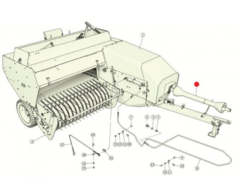 Вал карданный - 2009/1740/КН/63.Е-63.1