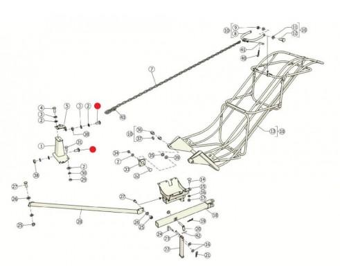 Болт - М10-6gх25.46.019