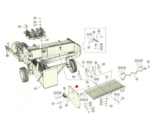 Механизм натяжения шпагата - ППТ 041.01.450М