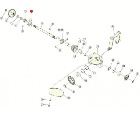 Корпус подшипника - Н 027.005-02