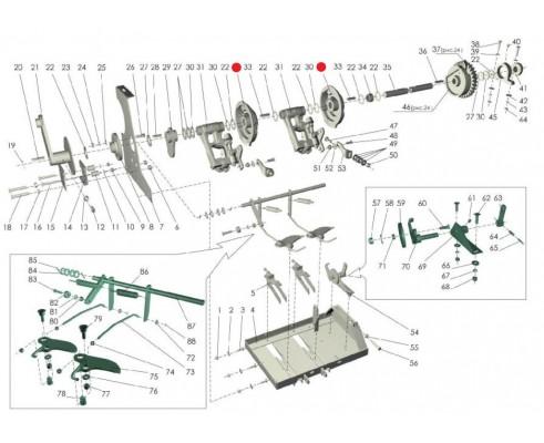 Корпус кулачков - RS 3788