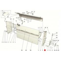 Боковина правая (ППР-120А с нов. щитами) - ППР 122.05.050