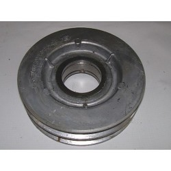 Шкив натяжной привода очистки 2-х ручьевой d140 чугун