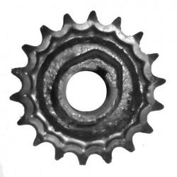 Звёздочка z-18, t-19,05 верхнего вала колосового элеватора