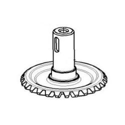 Вал-шестерня (привод транспортера початков) - КПС-4-0515603