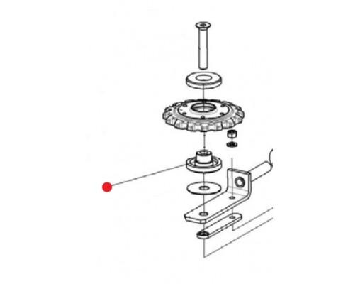 Втулка (звездочки натяжной) - КПС-4-0510617