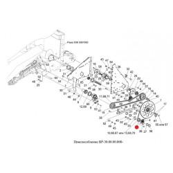 Звездочка (привода шнека) Z-18 - 1.320.010