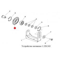 Звездочка (натяжная цепи привода шнека) - 1.309.052