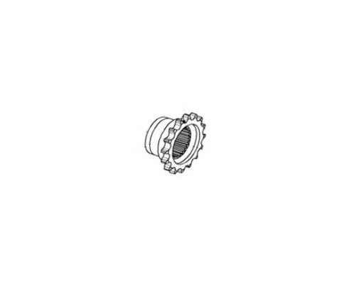 Звездочка (шлицевая опоры) - 1.326.711
