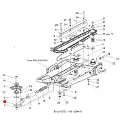 Кронштейн (натяжной звездочки) - КПС-4-0510020