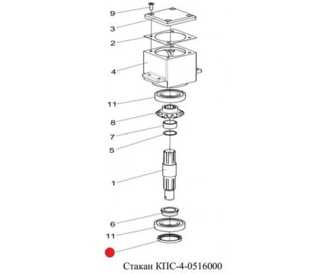 Манжета (ротора) - CR 48х62х8