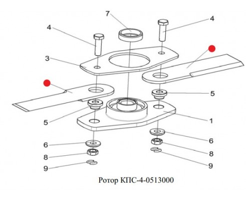 Нож - КПС-4-0513401