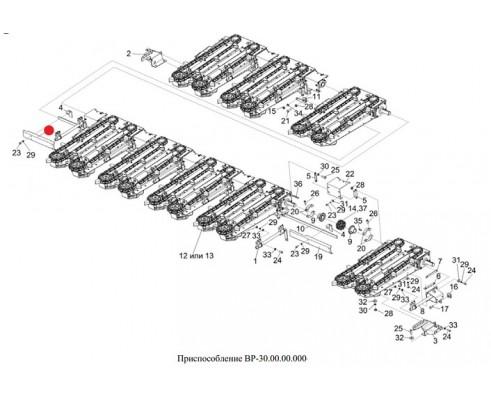 Панель правая (2 шт. на маш.) - 1.314.108