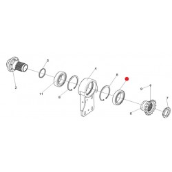 Подшипник (опора привод русел) - 6013-2RS1