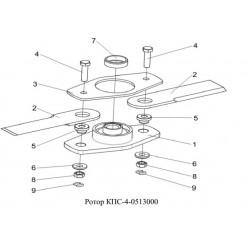 Ротор - КПС-4-0513000