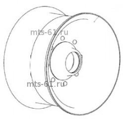 Шкив натяжной привода молотилки 44Б-3-19-01