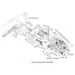 Шпонка (полумуфта L-120мм) - 12х8х45-23360