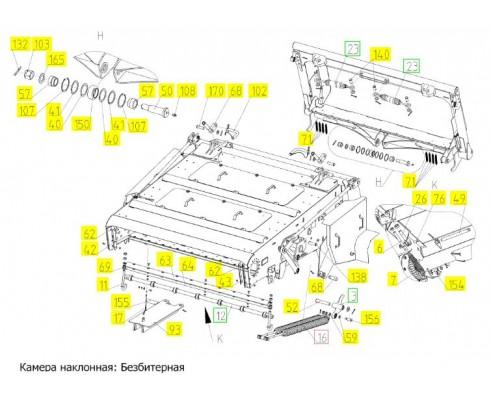 Блок пружин - 181.03.00.620