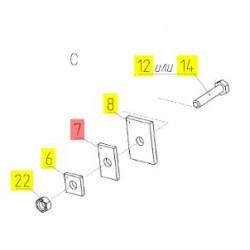 Груз балансировочный - 181.03.02.501-01