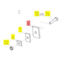 Груз балансировочный - 181.03.02.501-02