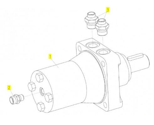 Гидромотор - 181.09.03.480