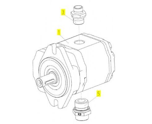 Гидромотор - 181.09.05.240