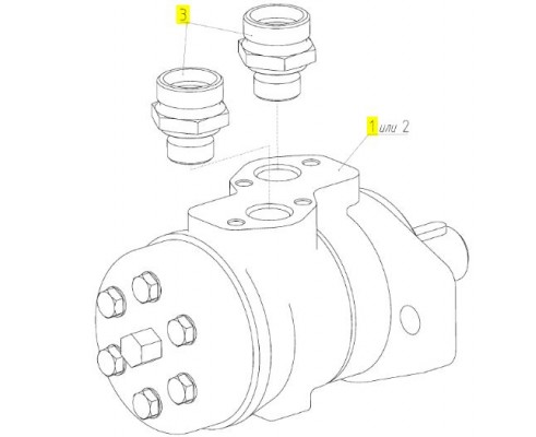 Гидромотор - 181.09.21.560