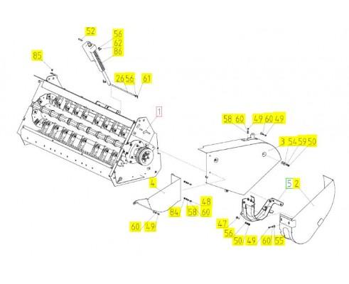 Блок измельчителя - 181.14.02.100А
