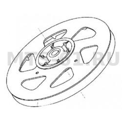 Шкив заднего контрпривода 2-х ручьевой чугун